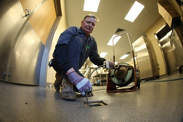 Sewer & Drain cleaning is available 24-hours a day