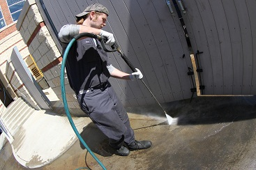 Spill clean-up from Grease Masters