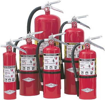 Fire extinguishers from Grease Masters